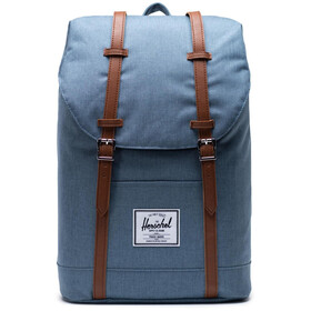 Herschel Retreat Rugzak 19,5l, blue mirage crosshatch